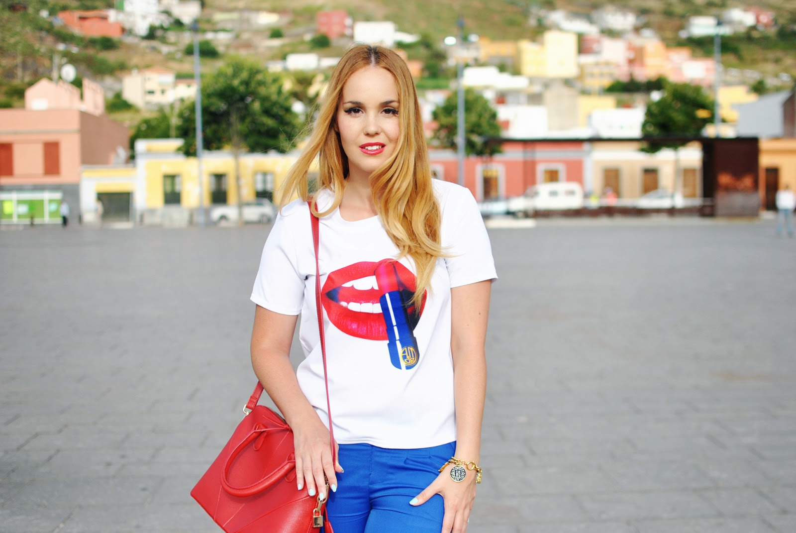nery hdez, blackfive bloggers, yrb fashion, clon zara , lips, blonde