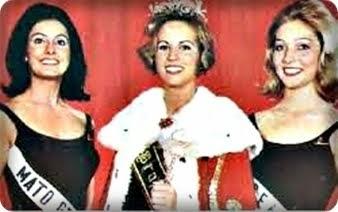 TOP TRES MISS BRASIL 1966