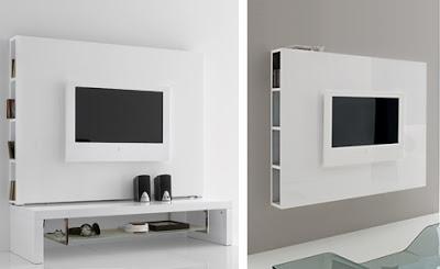 beyaz+duvar+monteli+modern+t.v+sehpas%25C4%25B1 Yeni Sezon Televizyon  Lcd Sehpası