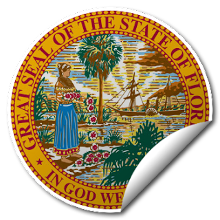Sticker of Florida Seal