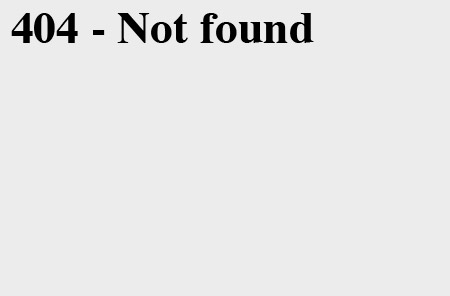 how to fix 404 page not found