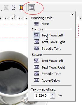 Cara Lain Membuat Teks Mengikuti Alur Gambar dengan Corel Draw