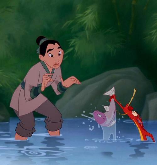 Animated Film Reviews Mulan 1998 The Disney Movie