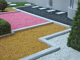 Les graviers décoratifs pour un aménagement extérieur parfait