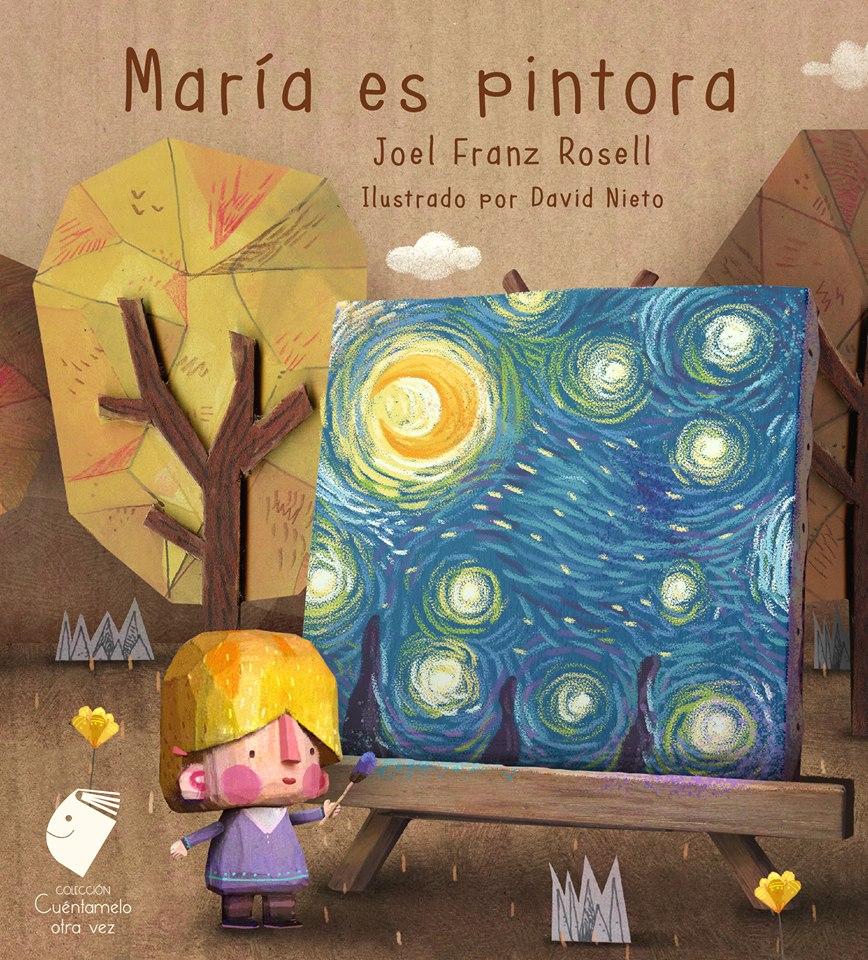 """""""María es pintora"""", mi libro n° 29"""