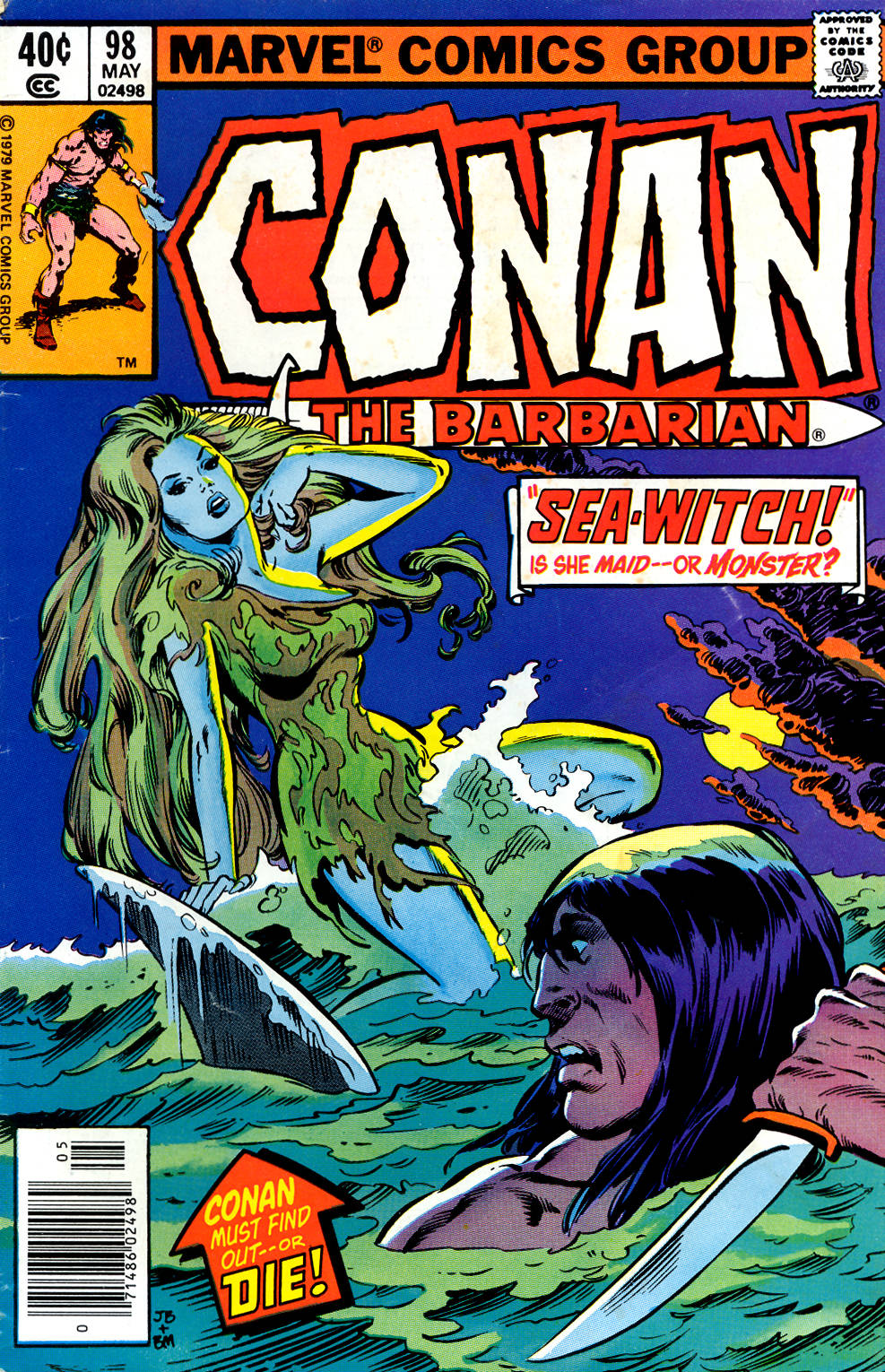 Conan the Barbarian (1970) Issue #98 #110 - English 1