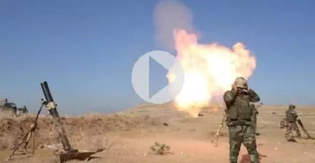 Λυσσαλέες μάχες στη Μοσούλη – Δείτε LIVE εικόνα από το πεδίο των μαχών (Vids)