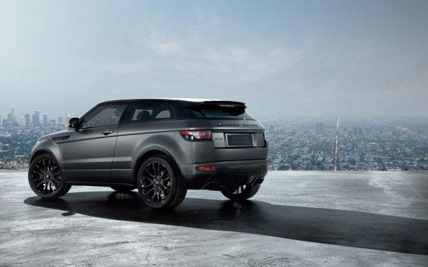 2012 Range Rover Evoque Victoria Beckham Limited Edition