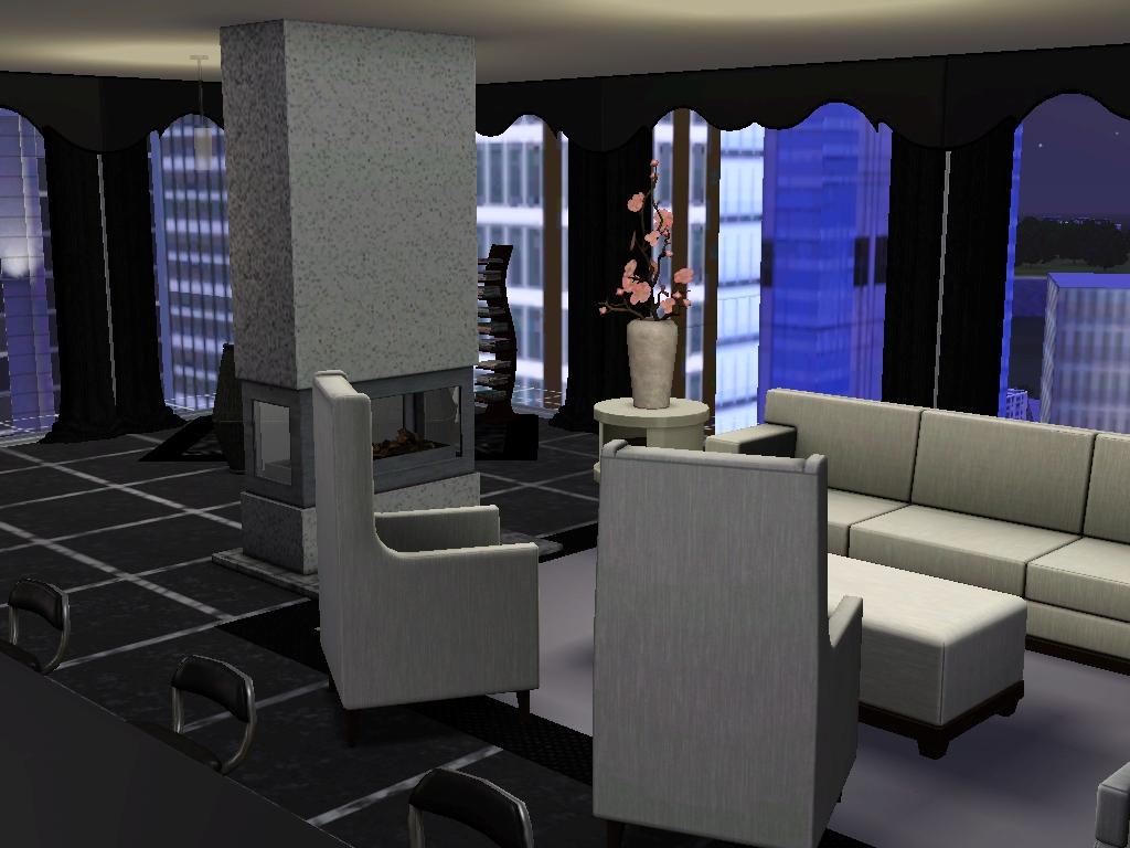 Sims 3 new york interior designs for Sim interior designs