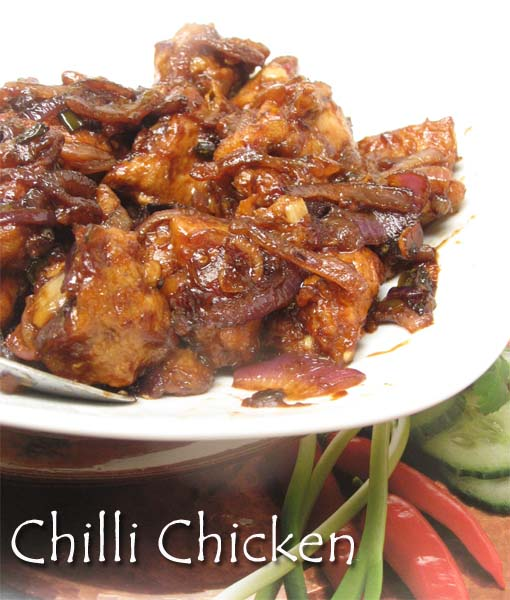 Bong moms cookbook kolkata style chilli chicken the way ma in i imagined a country where people ate hakka noodles chilli chicken and manchurian fried rice non stop for breakfast lunch and dinner forumfinder Image collections