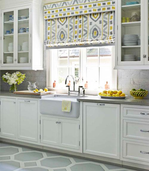 third floor design studio yellow grey easter paper rosettes