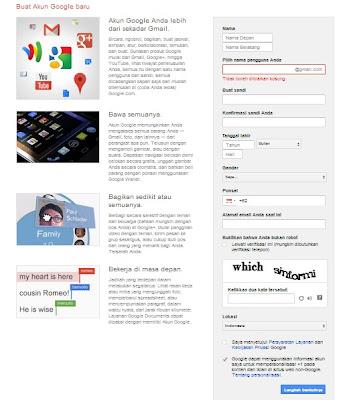 Cara Membuat Email di Gmail