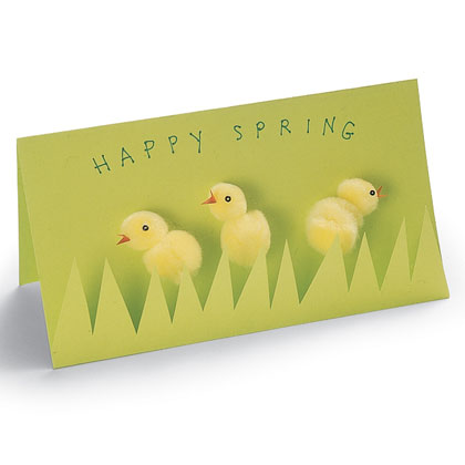Paint Chip Easter Card - Create My Event