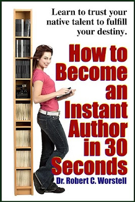 How to Become an Instant Author in 30 Seconds