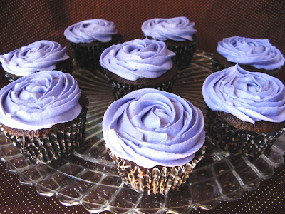 new sept+026a Rosette Cupcakes