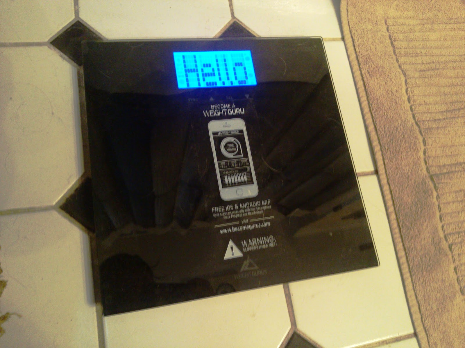 Weight Gurus Smartphone Connected Digital Bathroom Scale Review