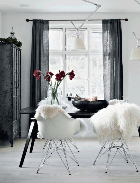 blog de decoración casa nórdica decorada para Navidad