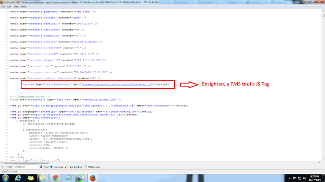 how a Tag management System JavaScript tag looks like