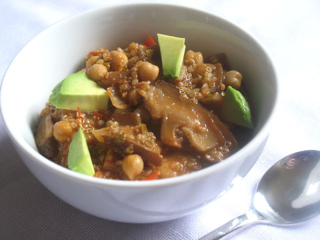 Jamaican-Style Jerk Chili with Chickpeas and Quinoa