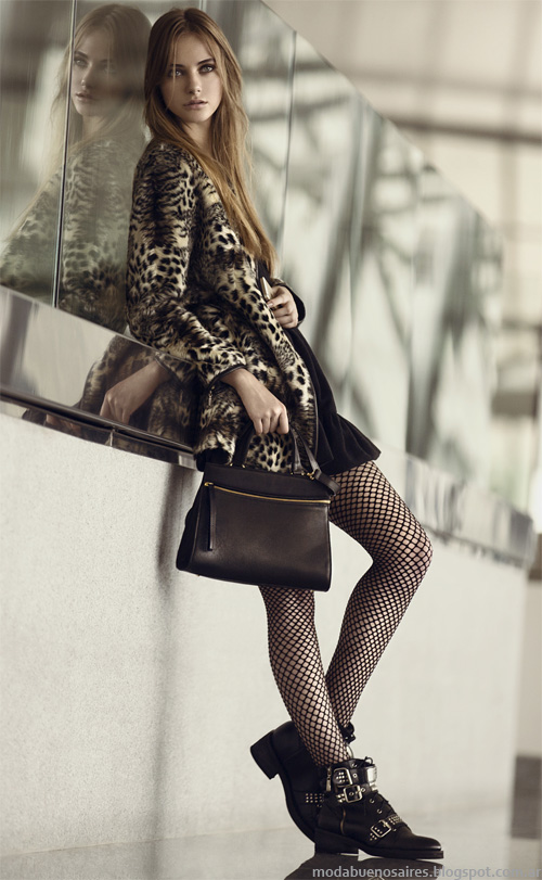 Prüne otoño invierno 2014. Moda carteras, zapatos y abrigos 2014. Moda otoño invierno 2014.