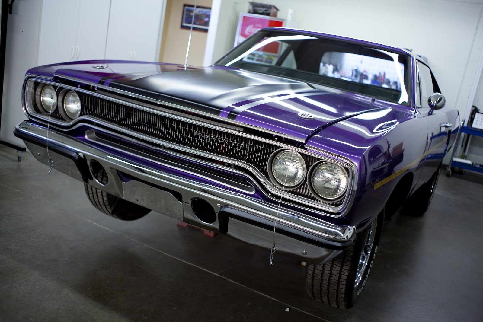 Mark and his team brought this road runner back to life