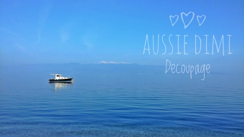 Aussie Dimi decoupage
