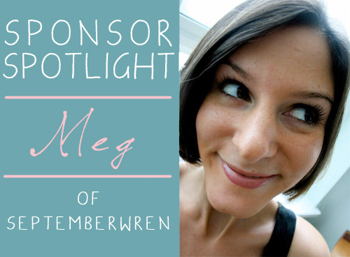 Sponsor Spotlight: SeptemberWren