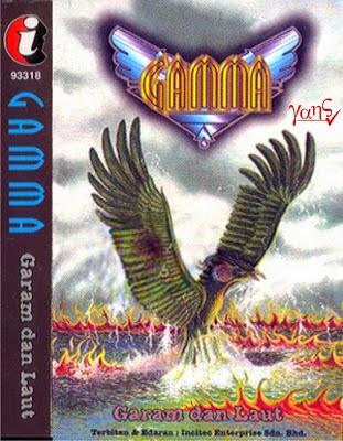 GAMMA - Garam Dan Laut  (Full Album 1996)