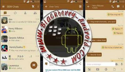 BBM Mod Brown Terbaru Versi 2.9.0.44 Apk