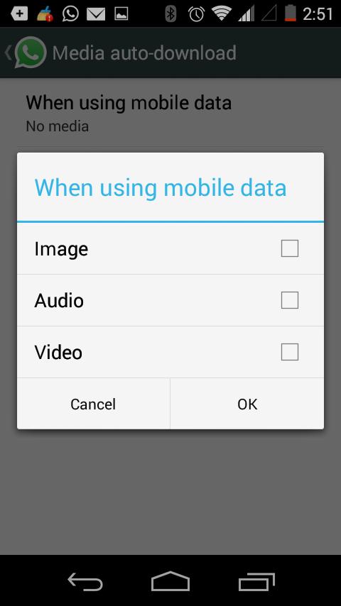 मोबाइल डेटा बचत