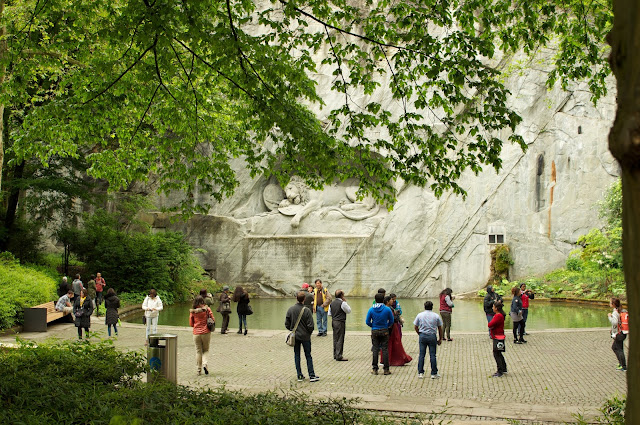 wisata, The lion monument,Lucerne,switzerland,Eropa