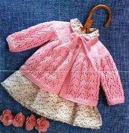 Free Knitting Patterns For Angel Babies : Free Knit Patterns: Free Knit Patterns: Sweaters for Babies