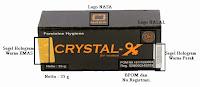 Kemasan Asli Crystal x