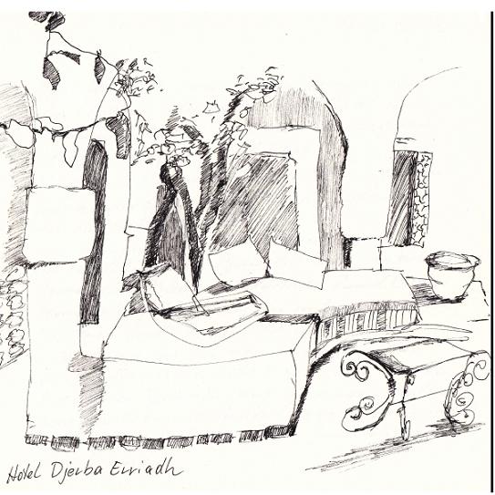 Zeichnungen aus der Wüste