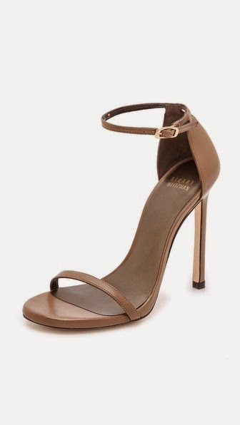 Nudist Sandals by: Stuart Weitzman @Shopbop