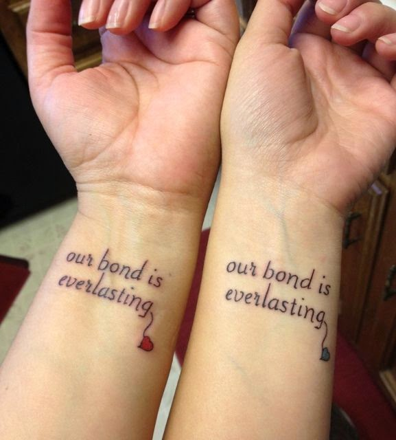 ♥ ♫ ♥ Mother & Daughter tattoos for me and Aryn ♥ ♫ ♥