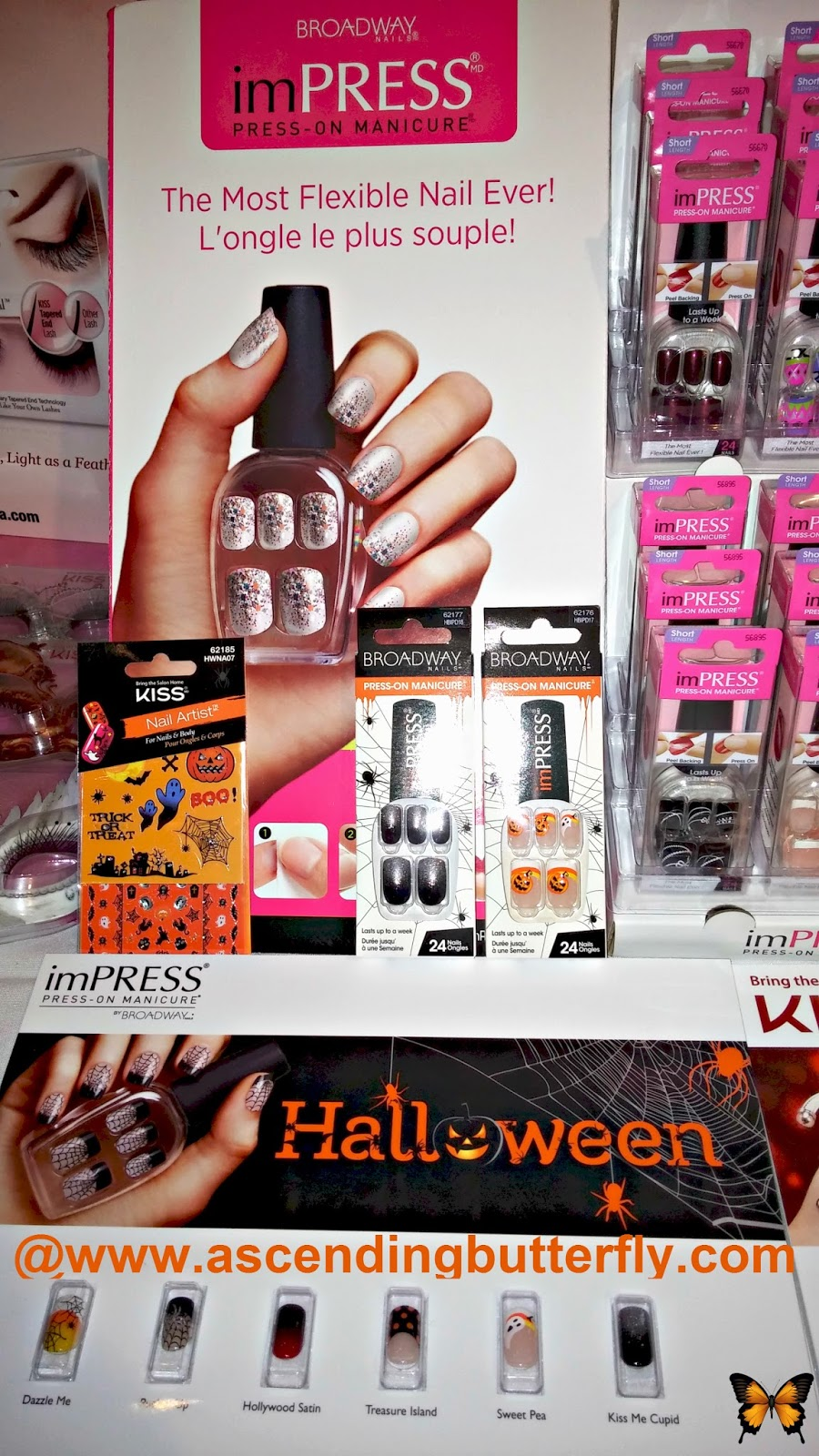 KISS Products imPRESS Press-On Manicure at beautypress September 2014 Spotlight Day