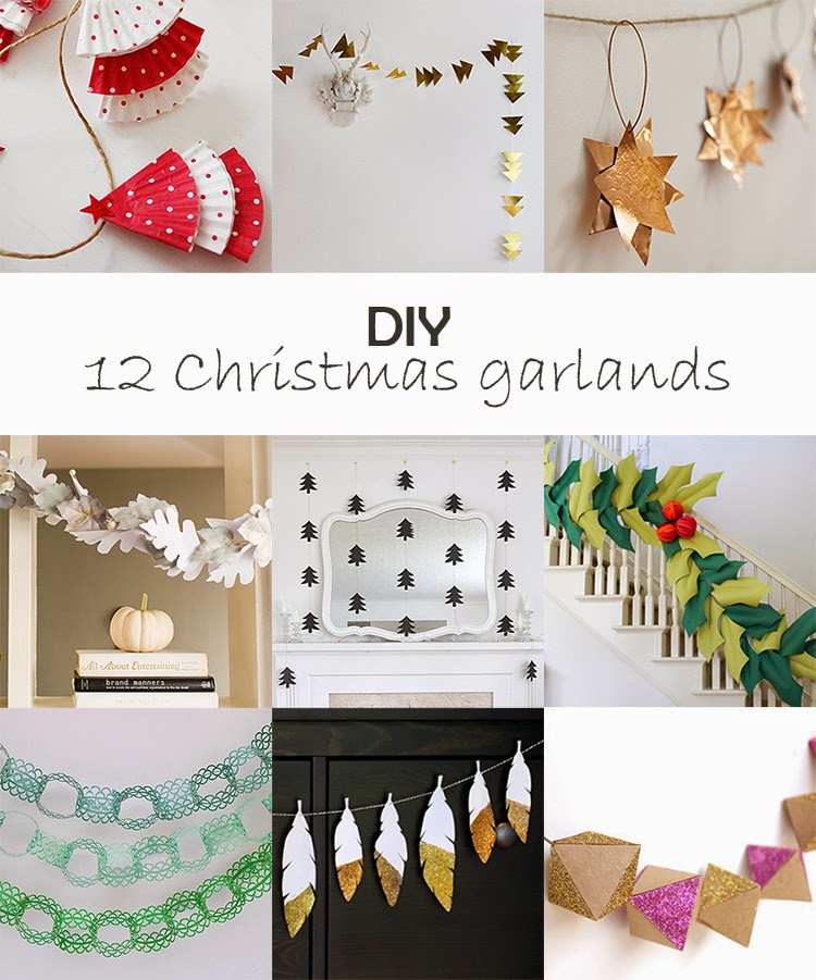 DIY Monday # Christmas garlands