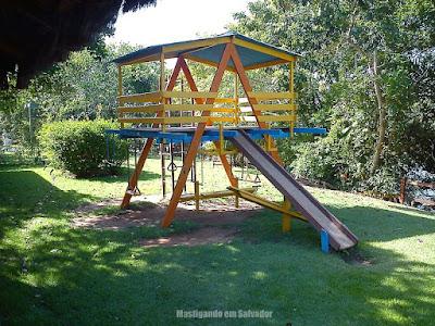 Jodies Pan Pizza Marina Riverside: parquinho para crianças