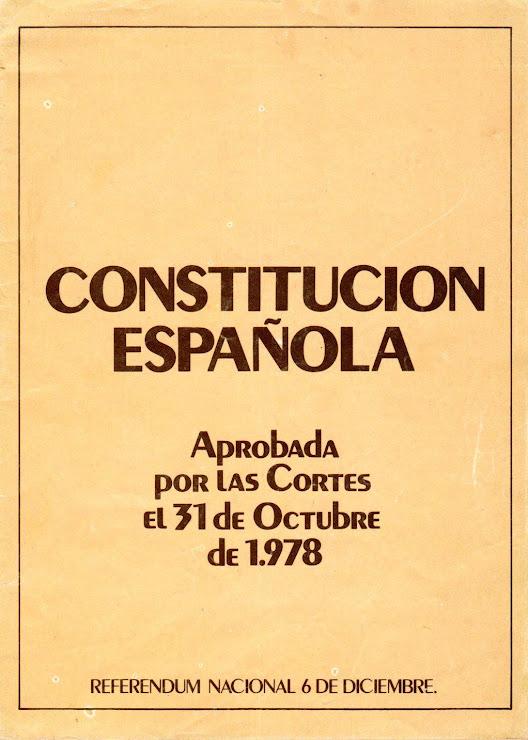 AM 05, CONSTITUCIO ESPANYOLA 1978