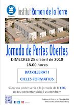 JORNADA DE PORTES OBERTES                         BAT I CF