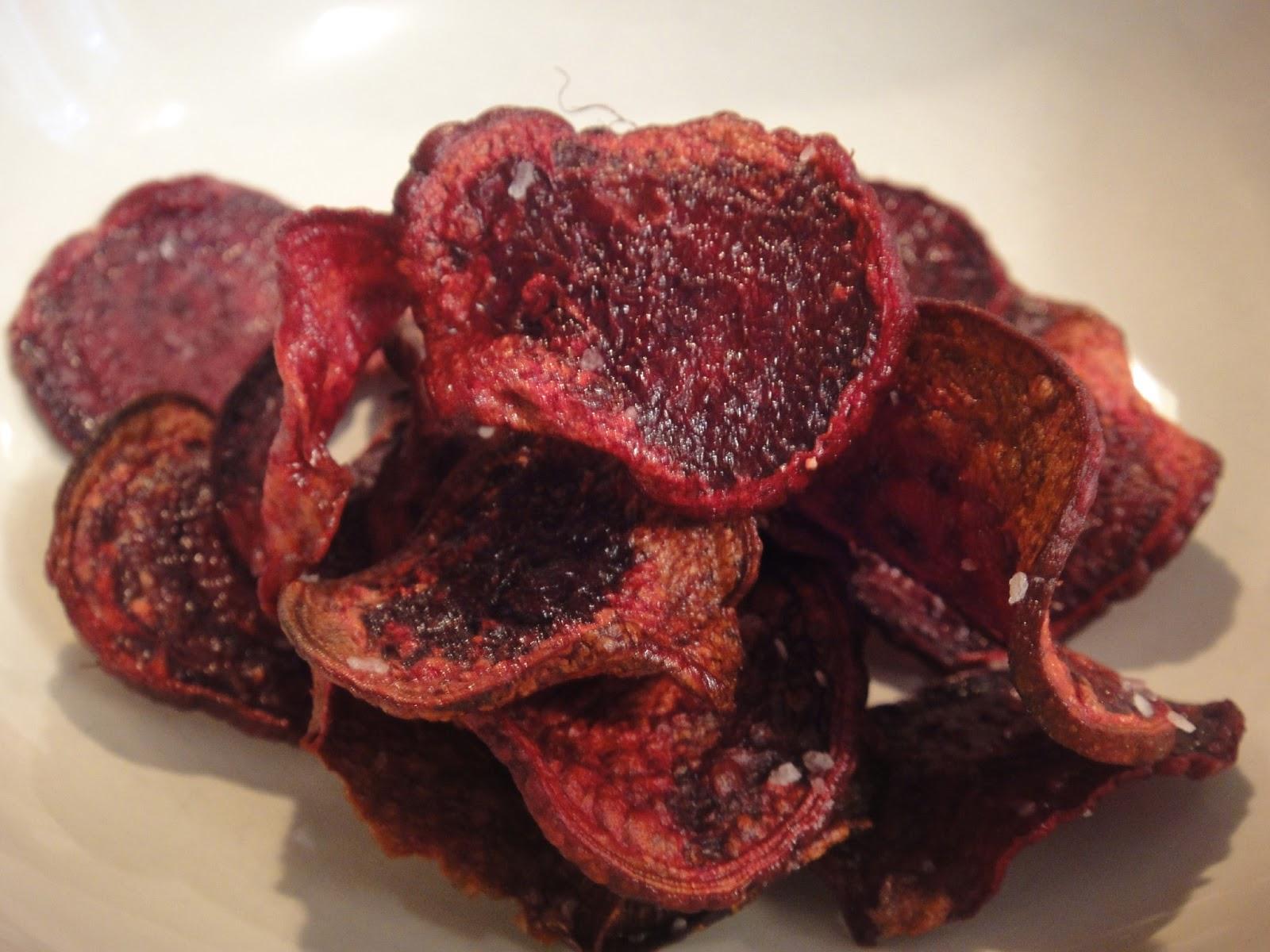 Beet Chips (2 Ways)