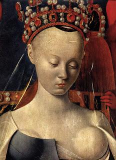 El pintor Fouquet tomó como modelo para su Vírgen el rostro de Agnés Sorel