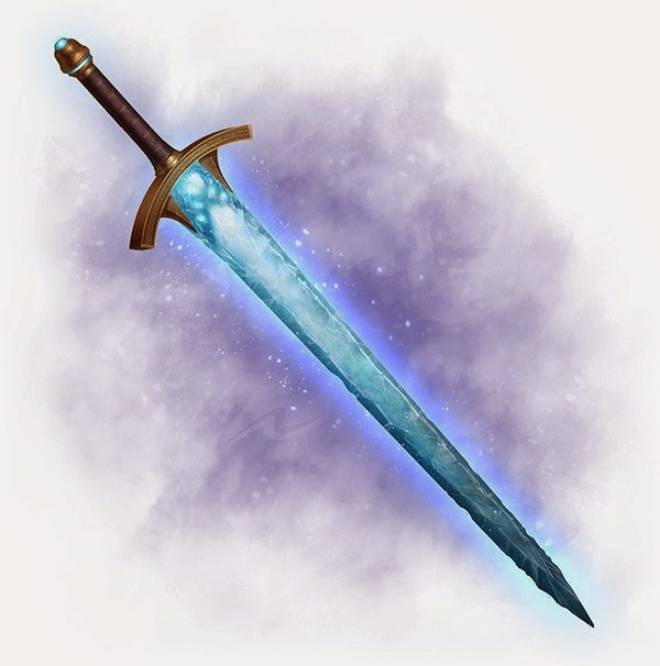 Dungeons Deep & Caverns Old : Three Unique Magical Weapons