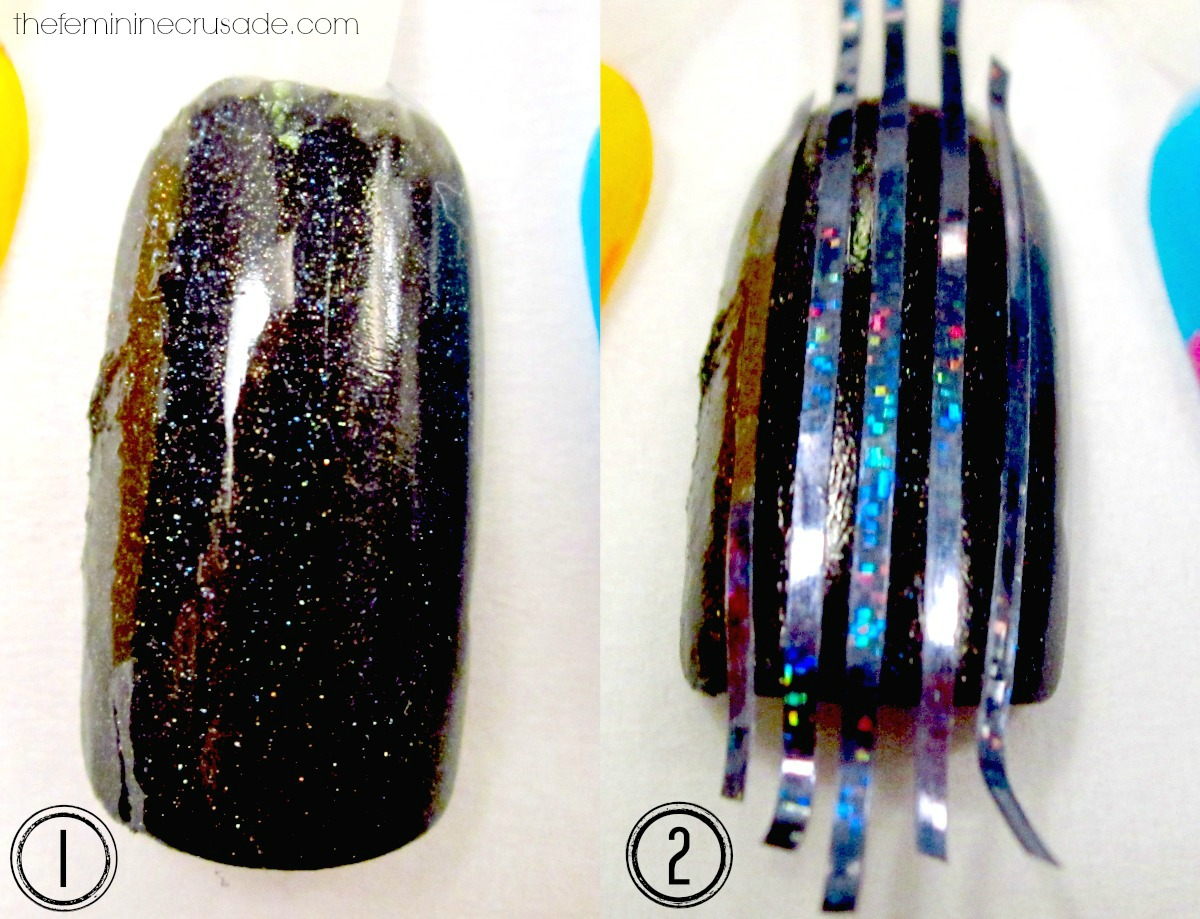 BLACK & GOLD STRIPING TAPE MANI