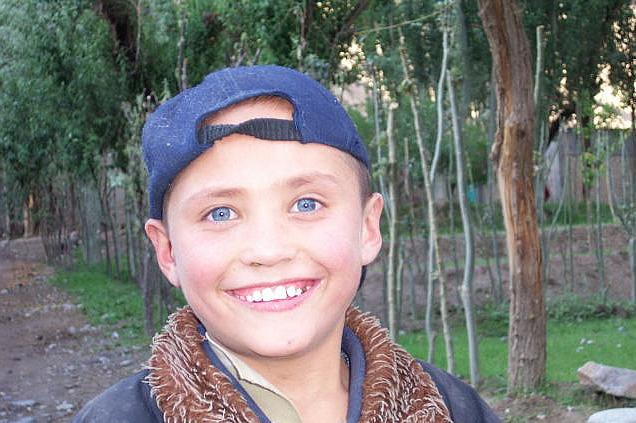 Uyghur People Blue Eyes