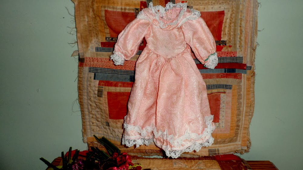 Early China Doll Pink/Lace Dress