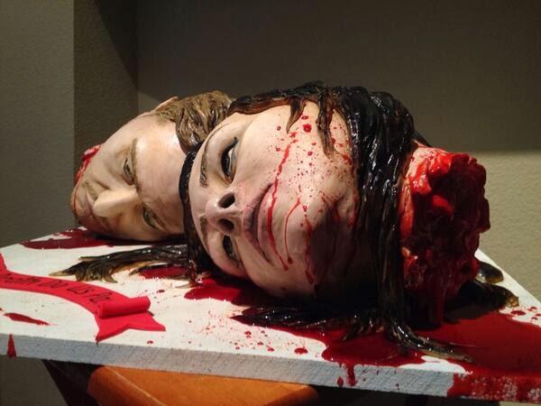 bizarre wedding cakes