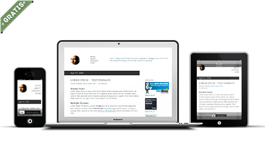 responsival responsive blogger template