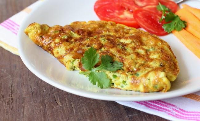 البيض الاومليت وجبة طبيعية لزيادة الوزن سريعا